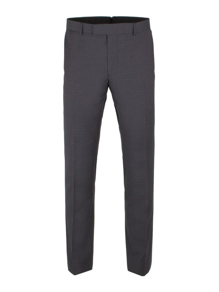 Men's Ben Sherman Peacoat Structure Check Trousers, Navy