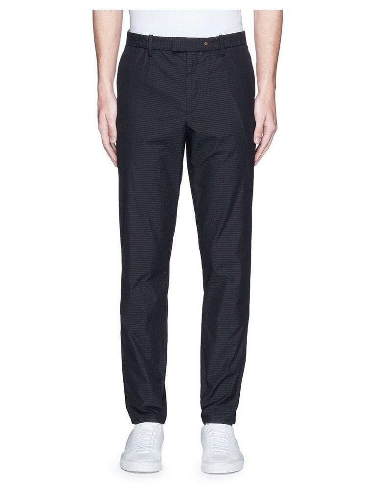'Corbet' seersucker pants