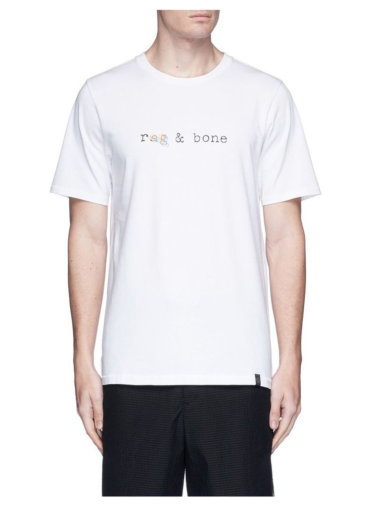 'Glitch Logo' T-shirt
