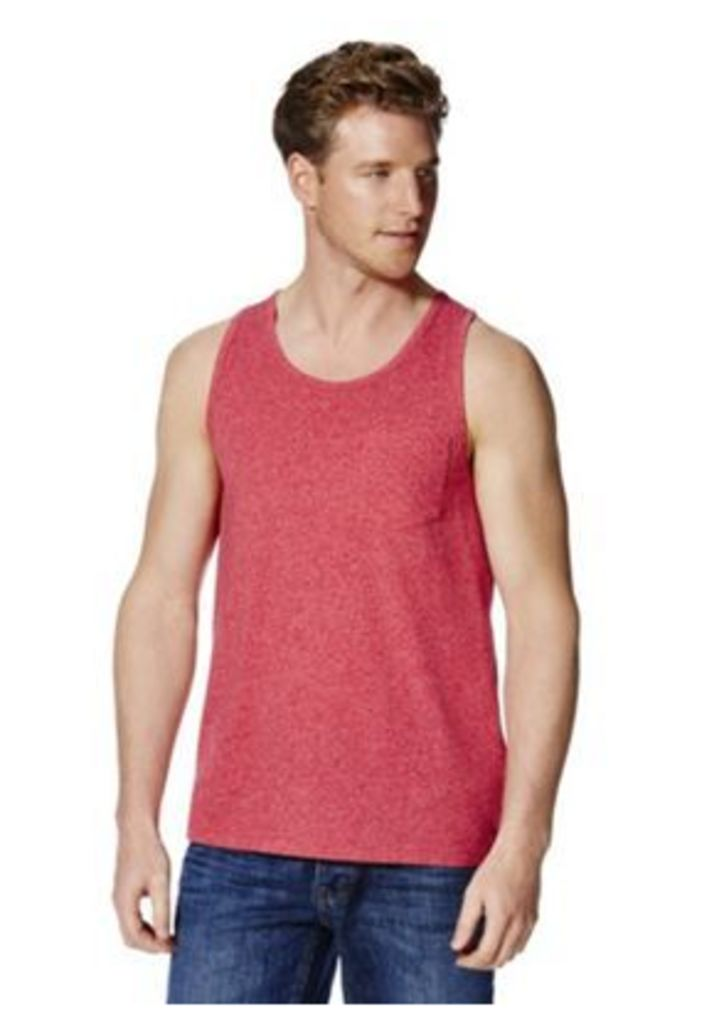 F&F Marl Pocket Detail Vest, Men's, Size: XXL