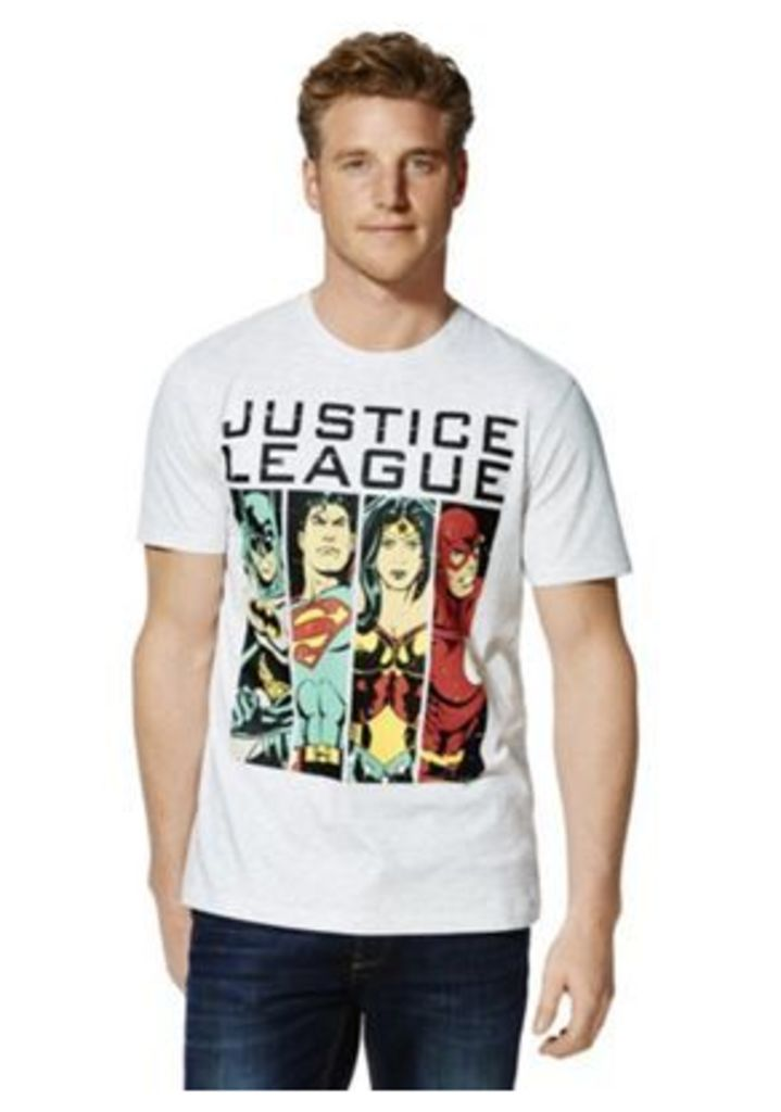 DC Comics Justice League T-Shirt, Men's, Size: Large