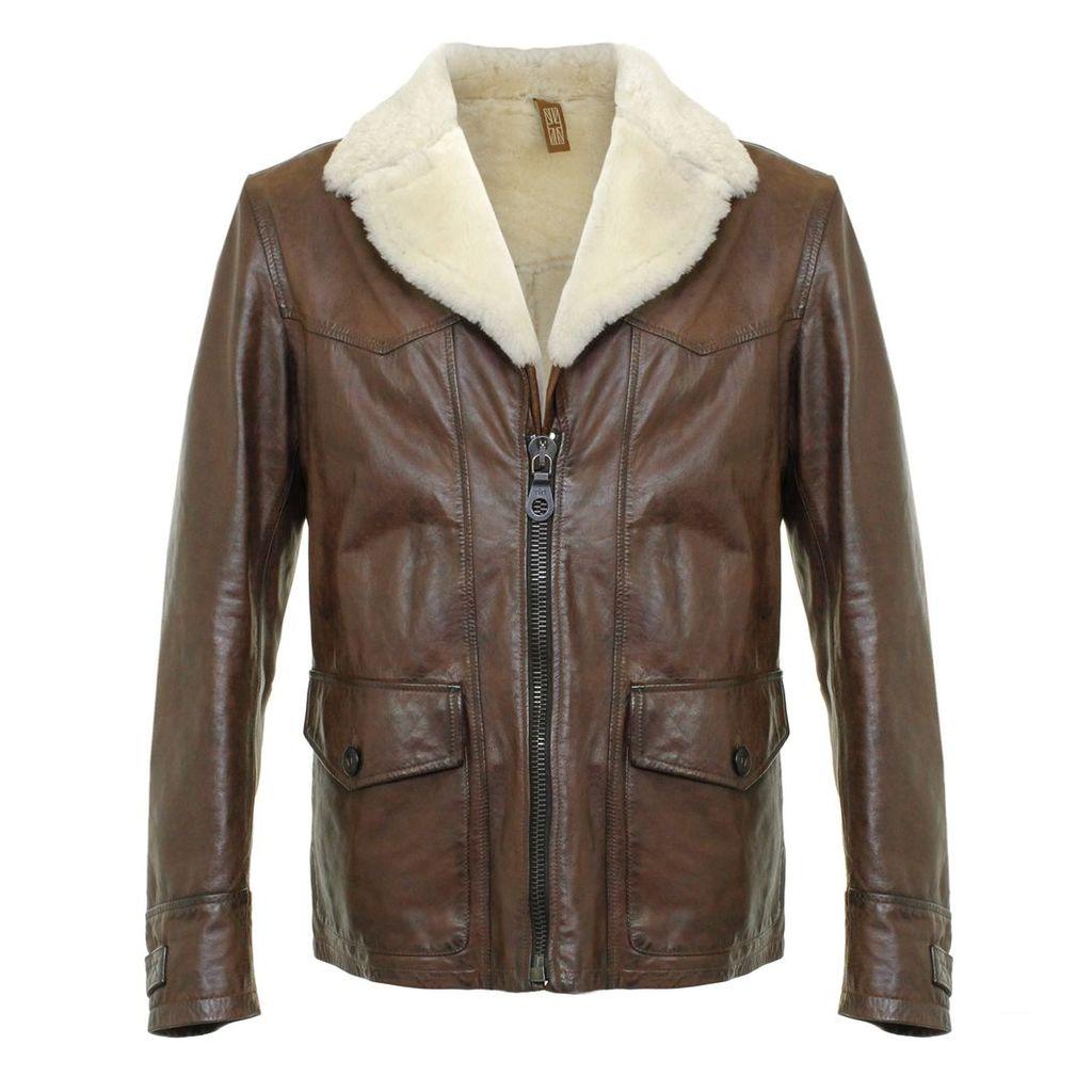 Matchless Cowboy Blazer Antique Brown Jacket 113203