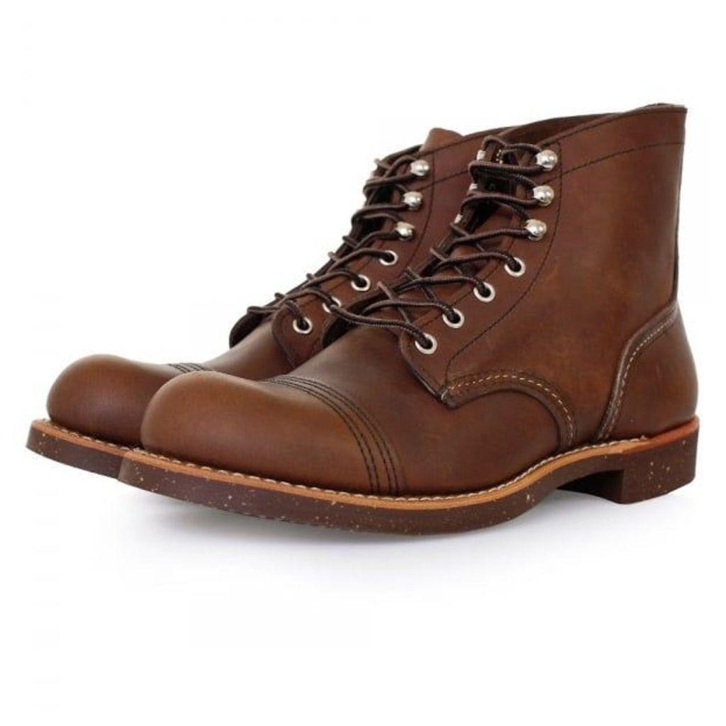 Red Wing Heritage 8111 Iron Range Amber Boot 8111