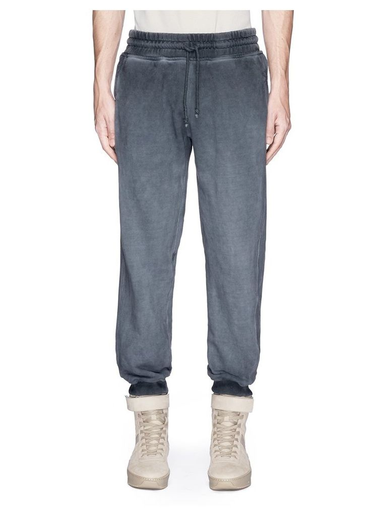 Relaxed fit French terry sweatpants