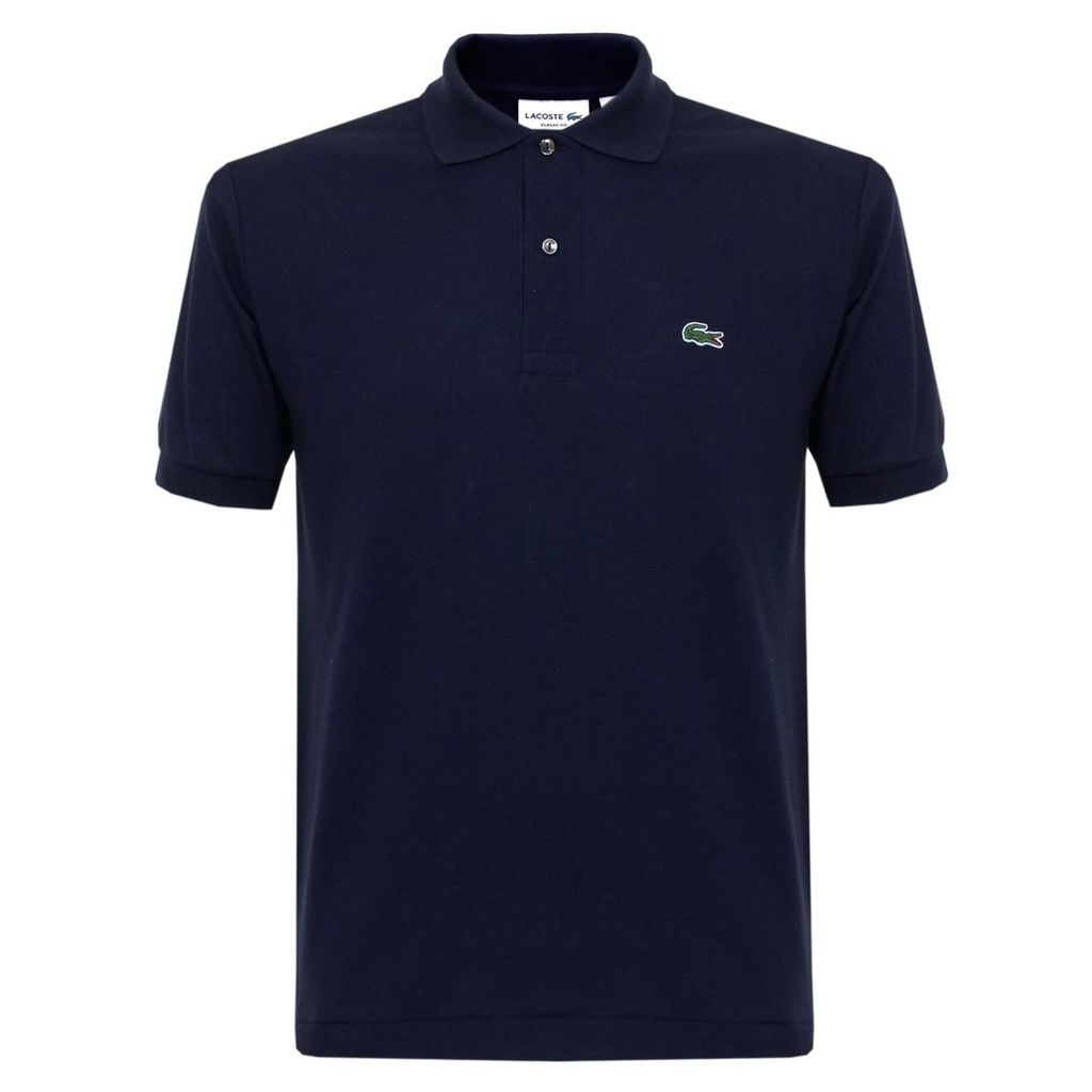 Lacoste Classic Pique Navy Polo Shirt L1212 00 166