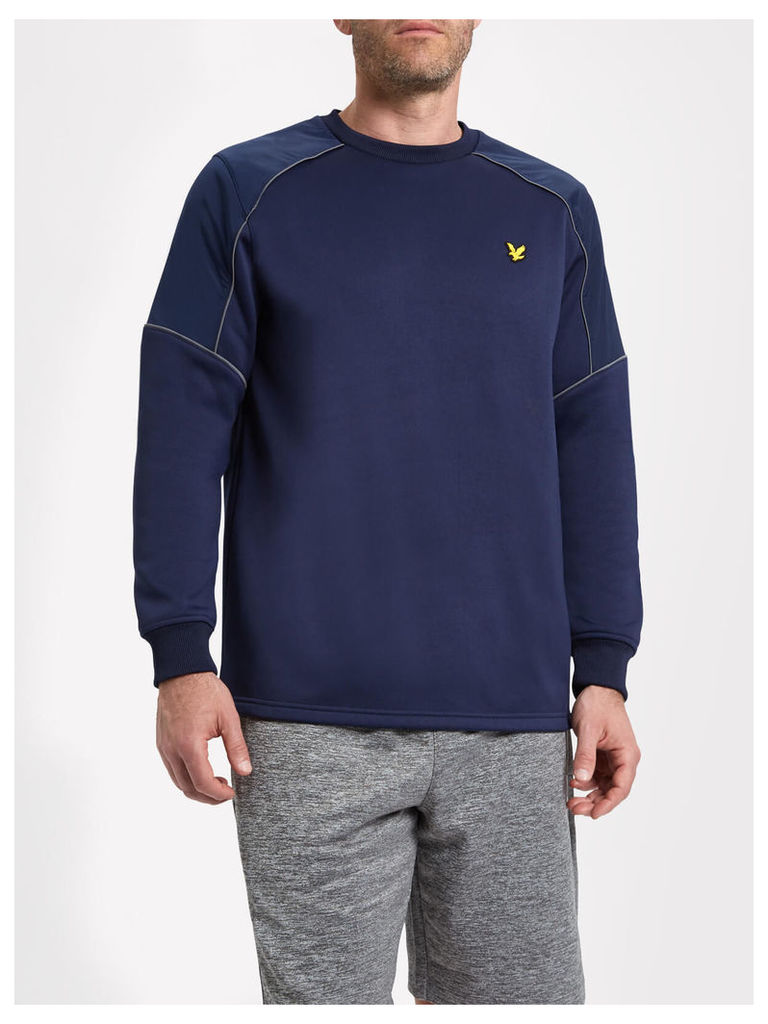 Lyle & Scott Lewis Fitness Overlay Track Top