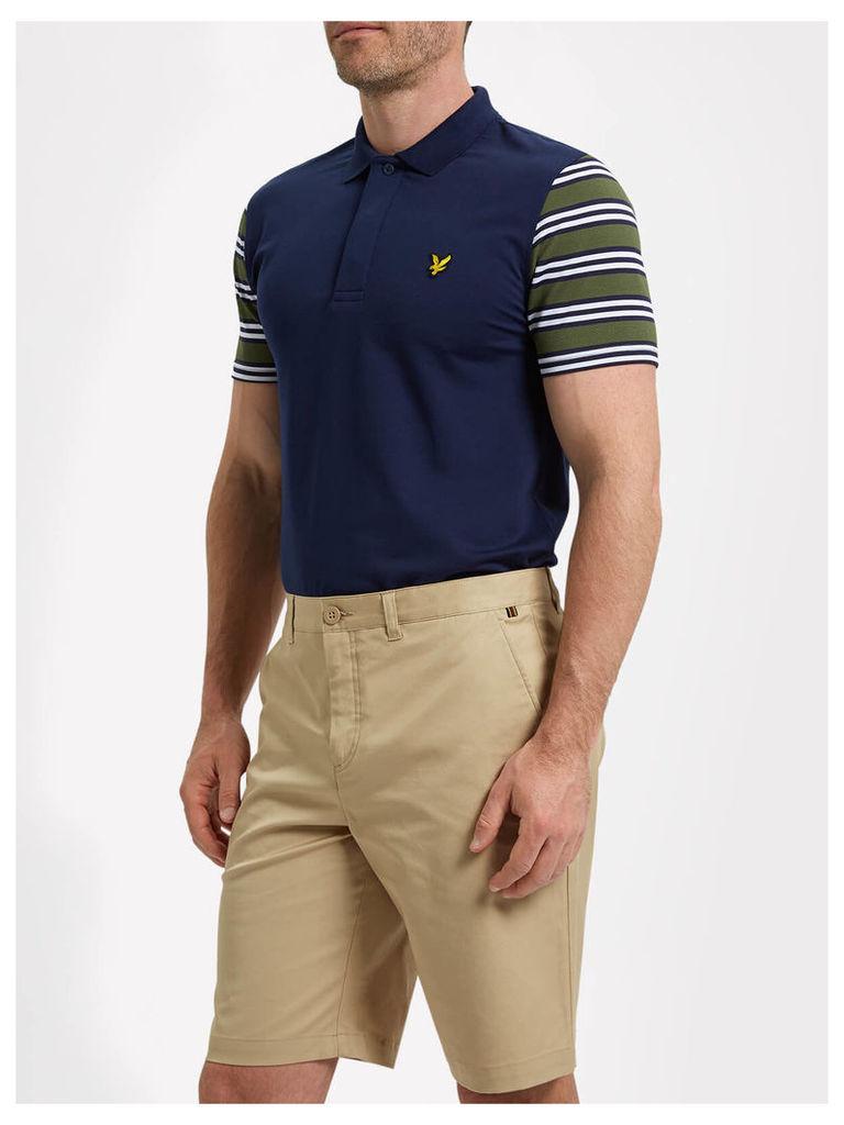 Lyle & Scott Dufftown Golf Stripe Detail Polo Shirt