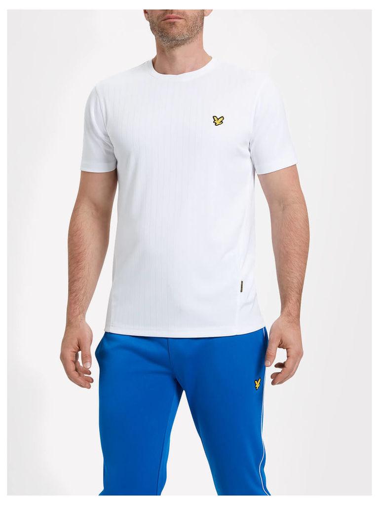 Lyle & Scott Simpson Fitness Drop Needle T-shirt