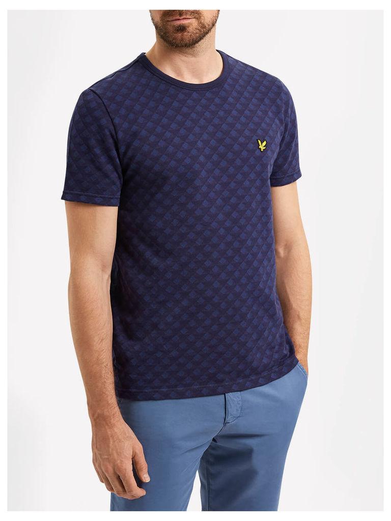 Lyle & Scott Jacquard T-shirt