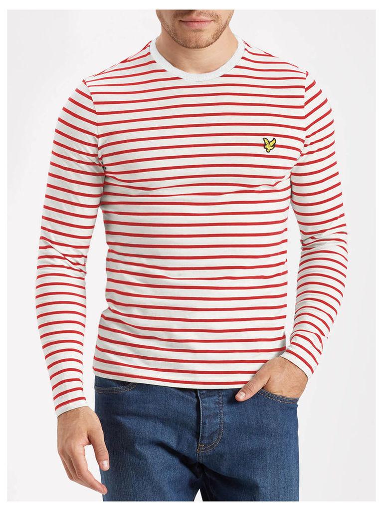 Lyle & Scott Long Sleeve Breton Stripe T-shirt