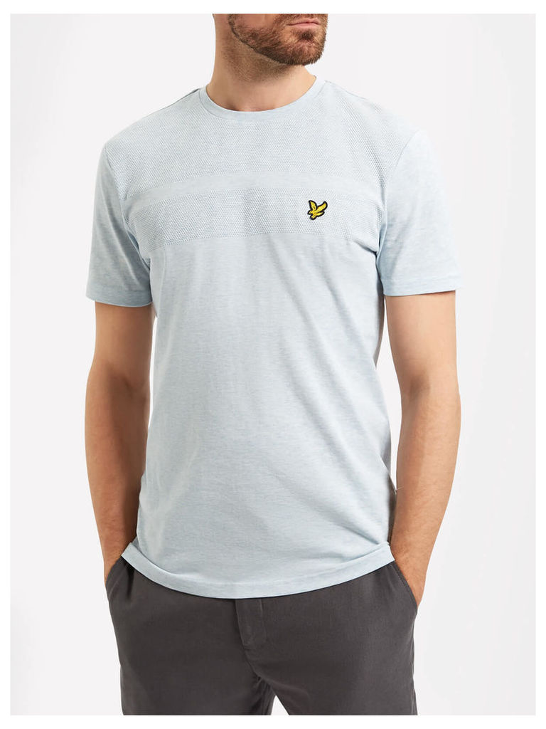 Lyle & Scott Textured Yoke T-shirt