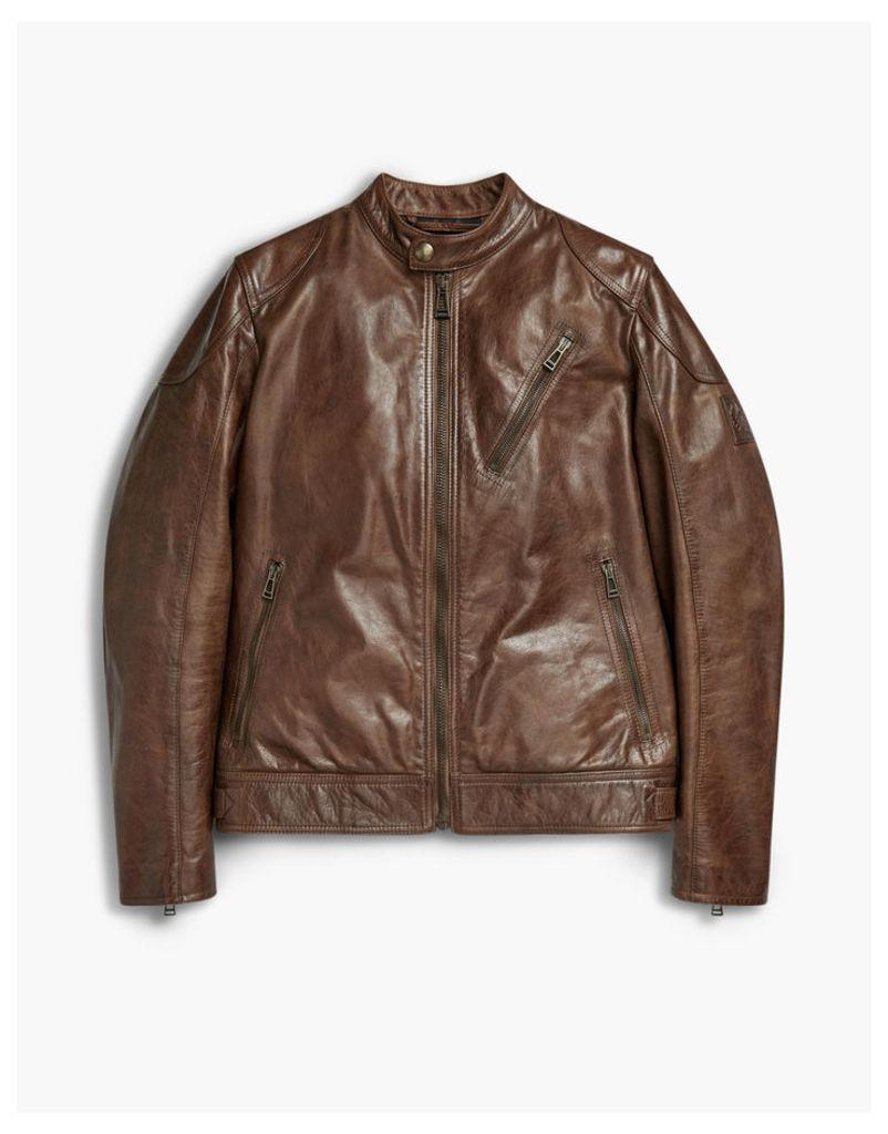 Belstaff Maxford 2.0 Blouson Jacket Cognac