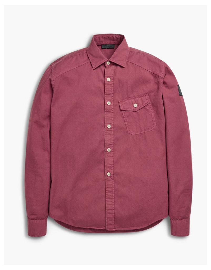 Belstaff Steadway Shirt Man Cardinal Red