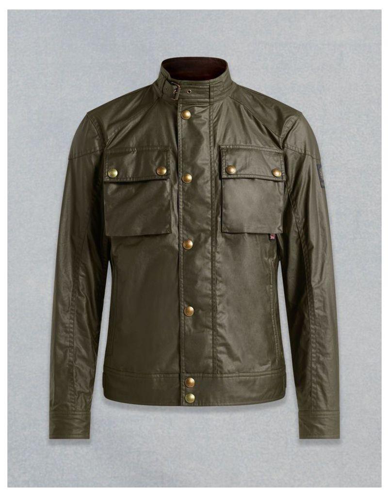 Belstaff Racemaster Blouson Jacket Faded Olive