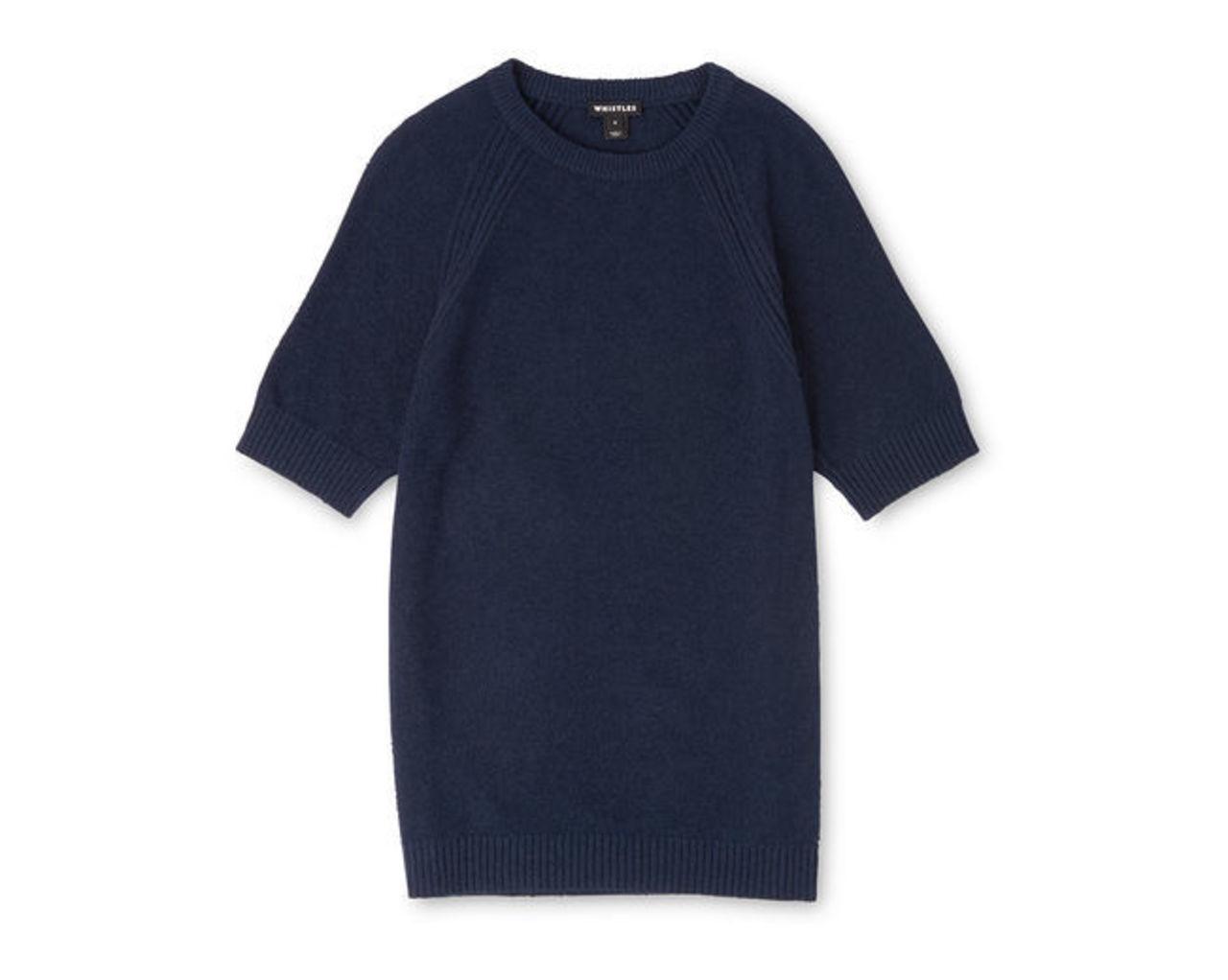 Textured Knit T-Shirt
