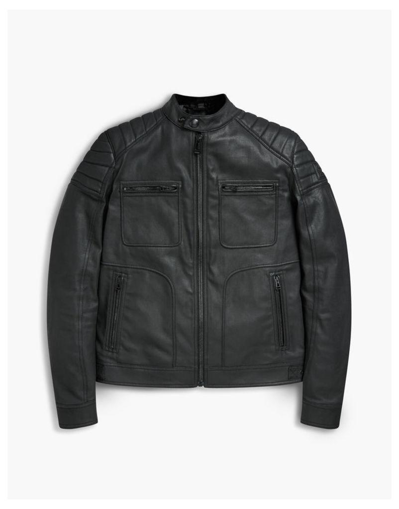 Belstaff Weybridge Biker Jacket Black