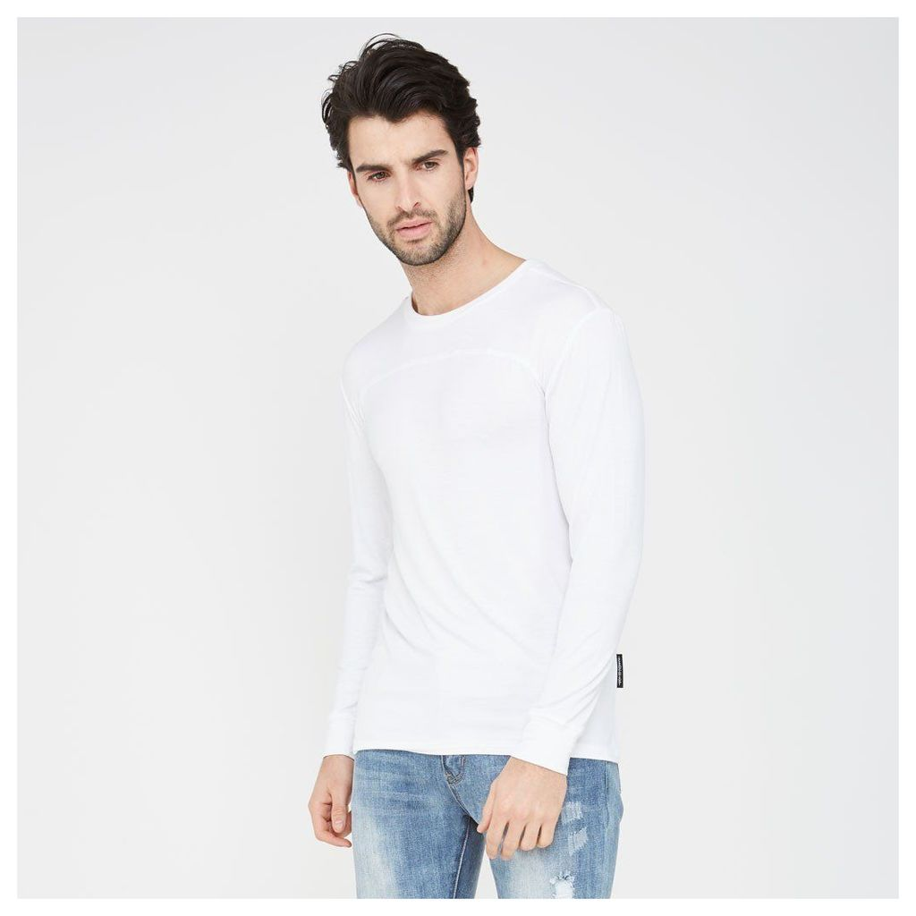 Essential Top with Long-Sleeve - White
