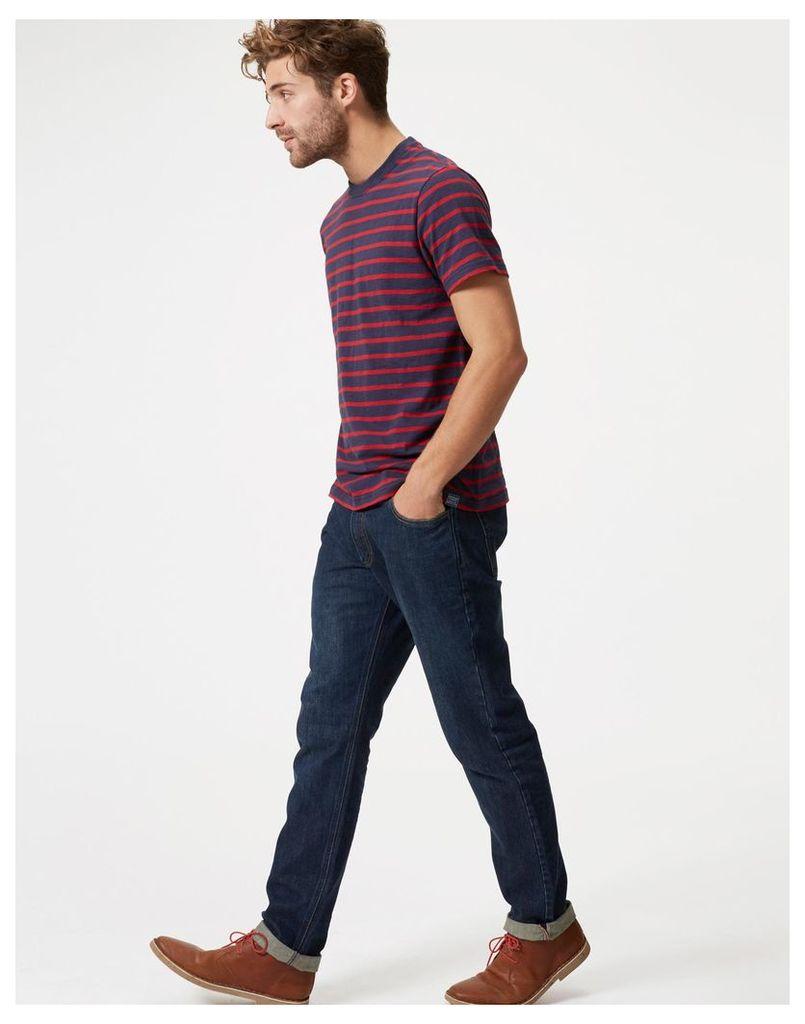 Washed Denim Five pocket Jeans  Size 38 | Joules UK