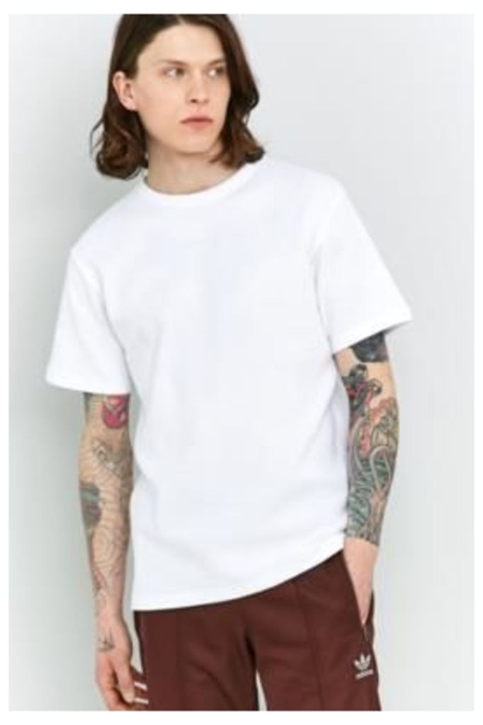 Shore Leave Brayden White Waffle T-shirt, WHITE