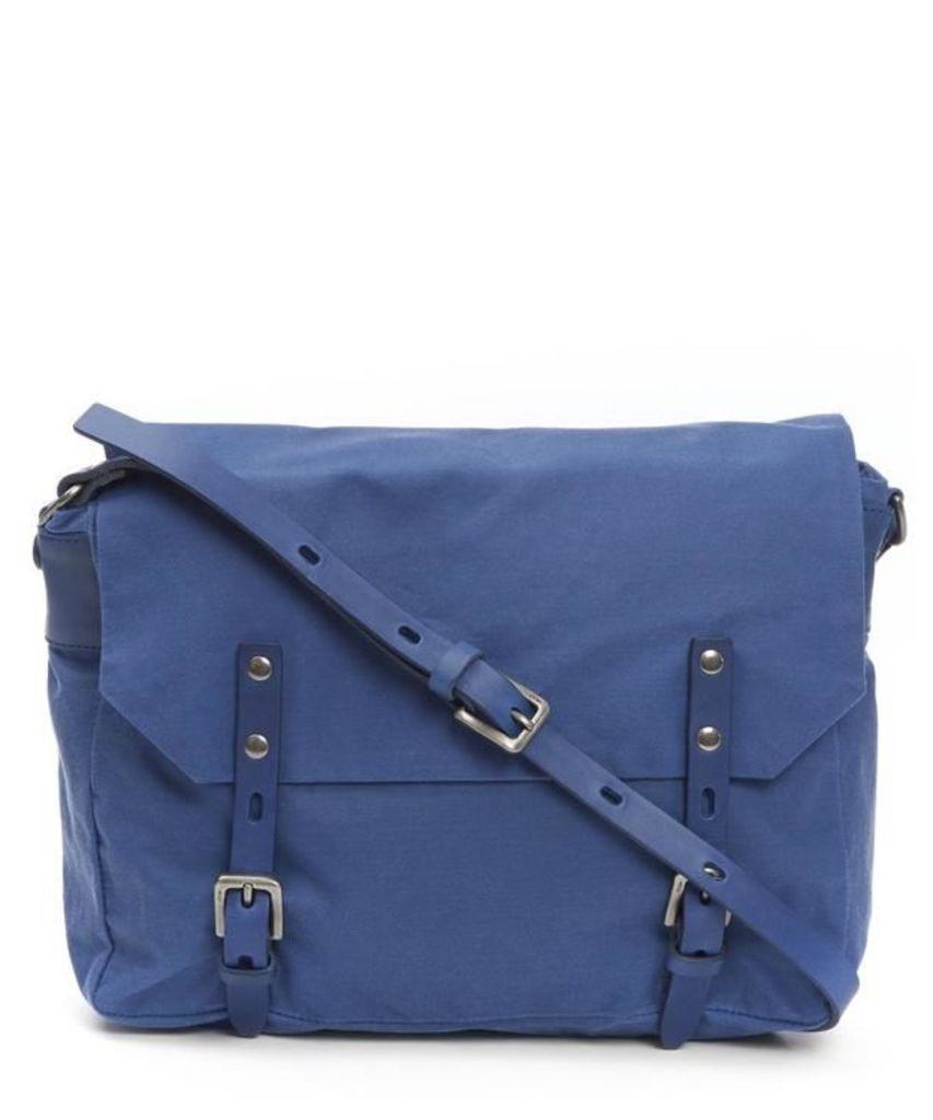Jez Waxy Canvas Messenger Bag