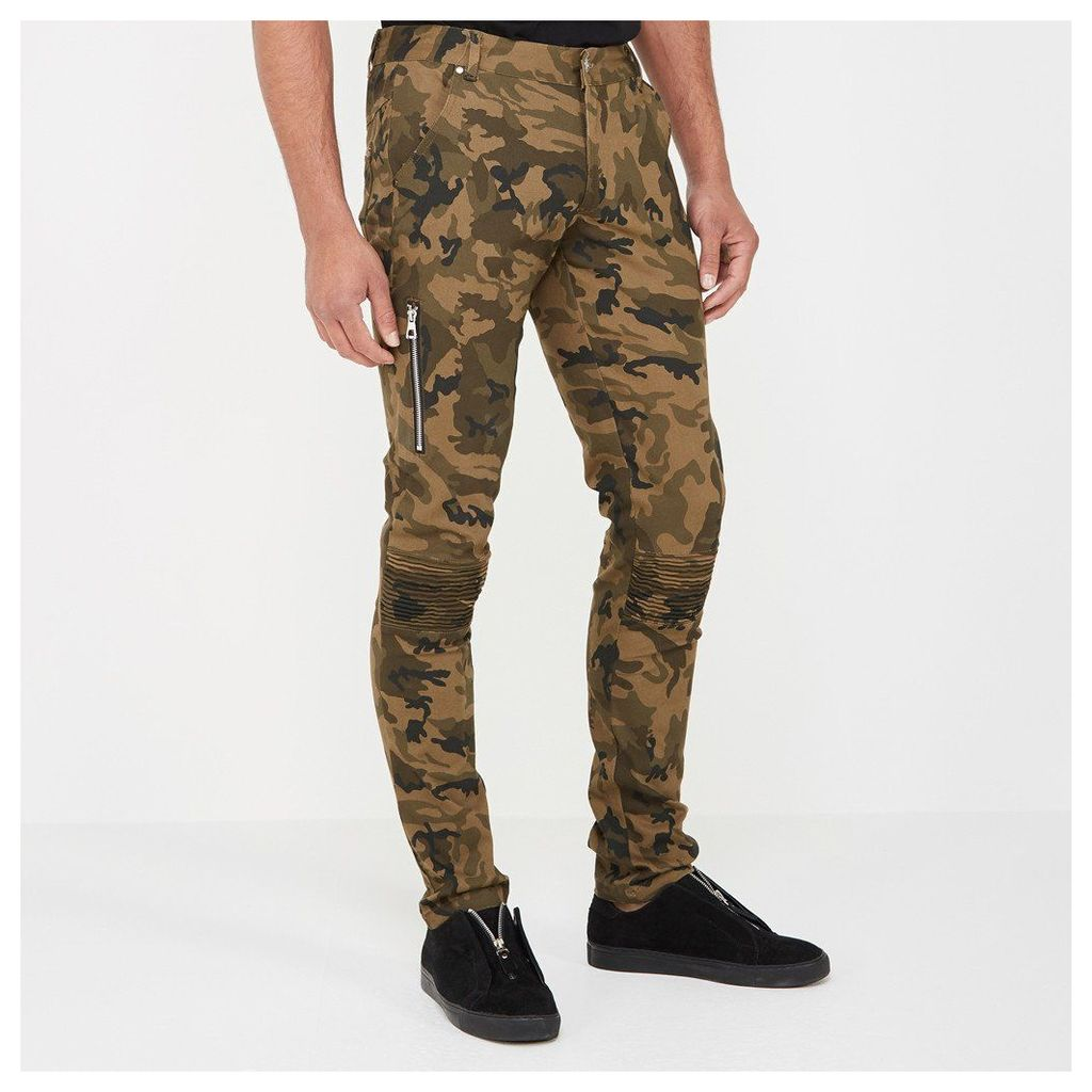 Camouflage Trousers - Khaki Camo