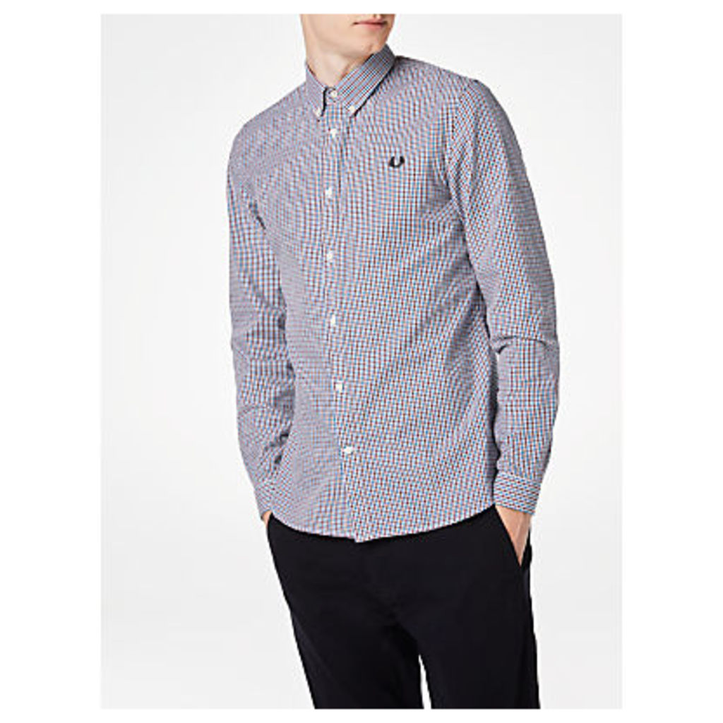Fred Perry Three-Colour Basketweave Shirt