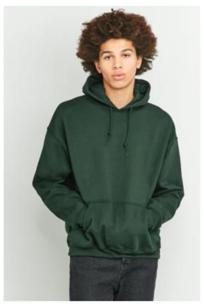 UO Forest Green Oversized Hoodie, GREEN