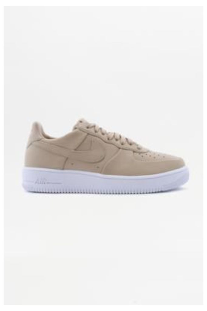 Nike Air Force 1 Ultra Force Linen Trainers, NEUTRAL
