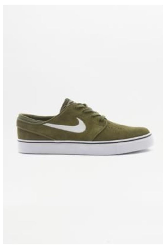 Nike SB Air Zoom Stefan Janoski Green Trainers, KHAKI