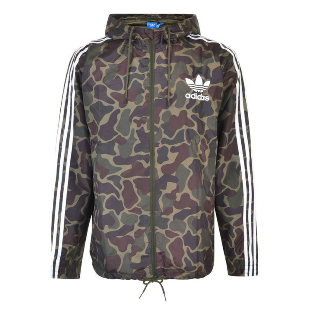 ADIDAS ORIGINALS Camouflage Windbreaker Jacket