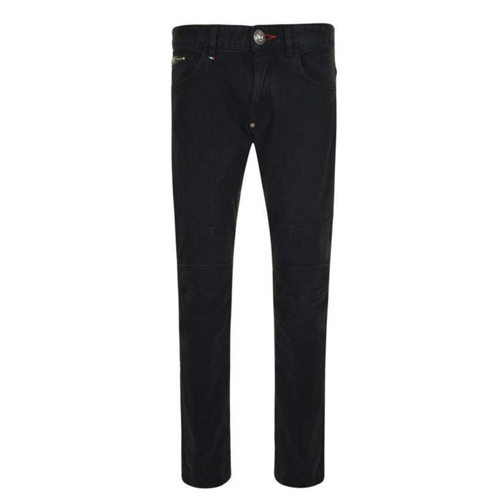 PHILIPP PLEIN So Biker Jeans