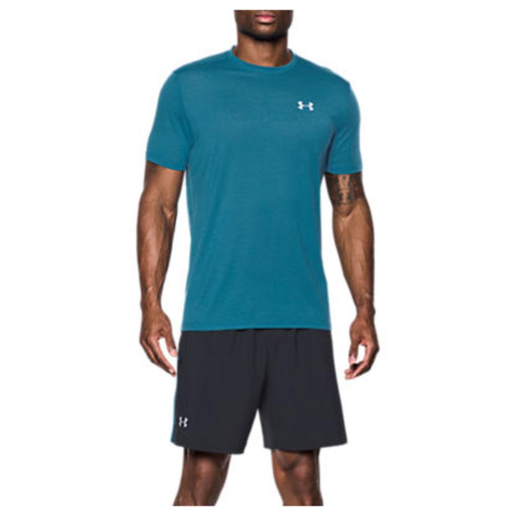 Under Armour Threadborne Streaker Short Sleeve Running T-Shirt, Blue