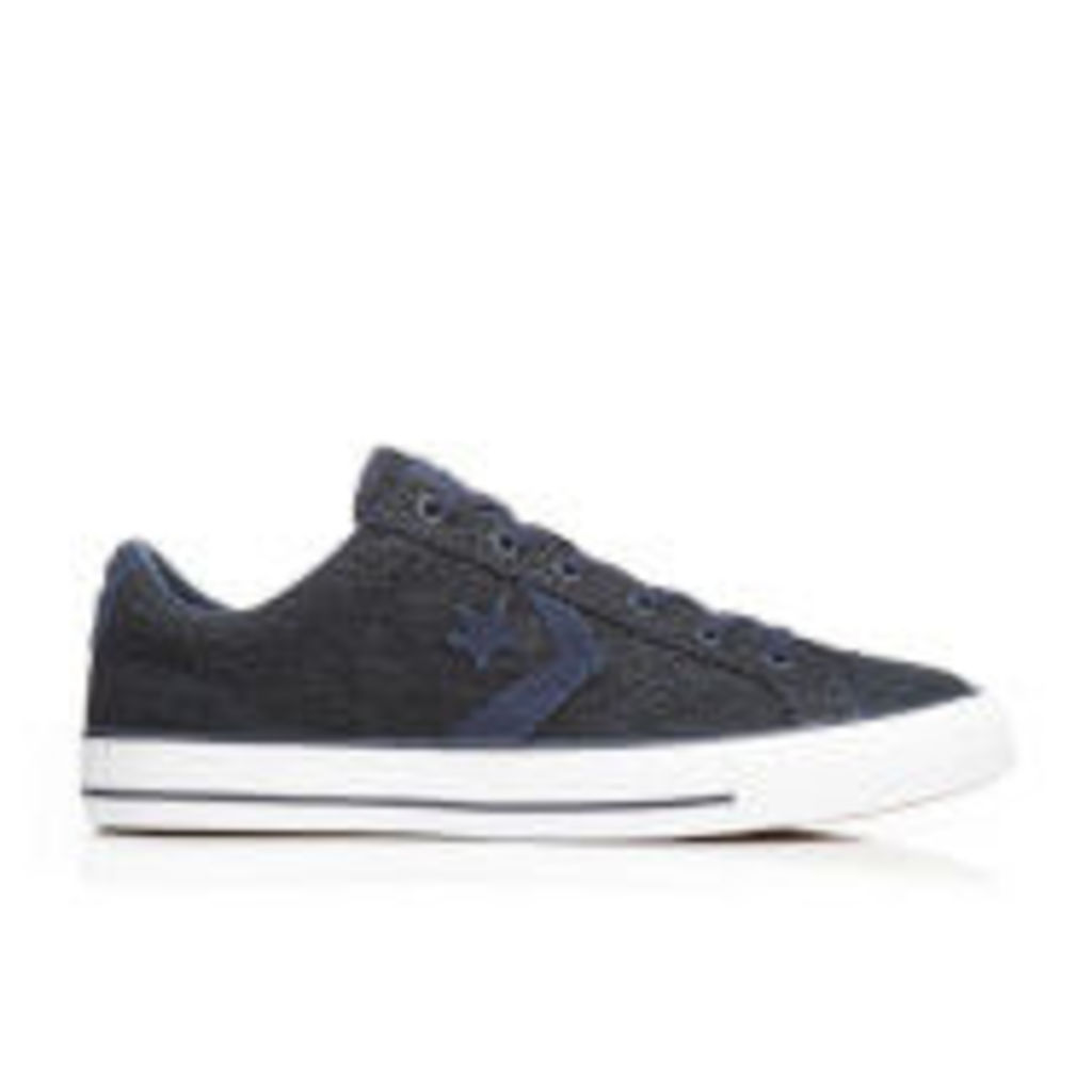 Converse Men's CONS Star Player Ox Trainers - Obsidian/Athletic Navy/White