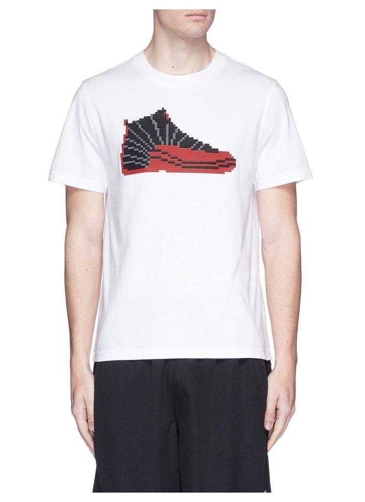 'Jordan' rubber appliqué T-shirt