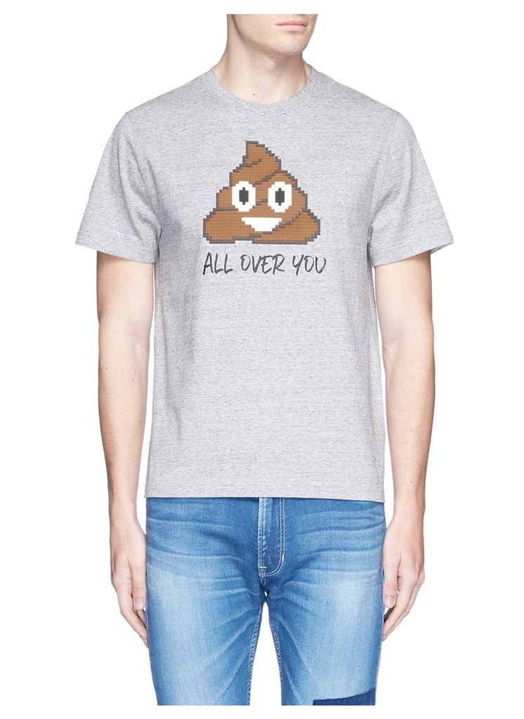 'All Over You' rubber appliqué T-shirt