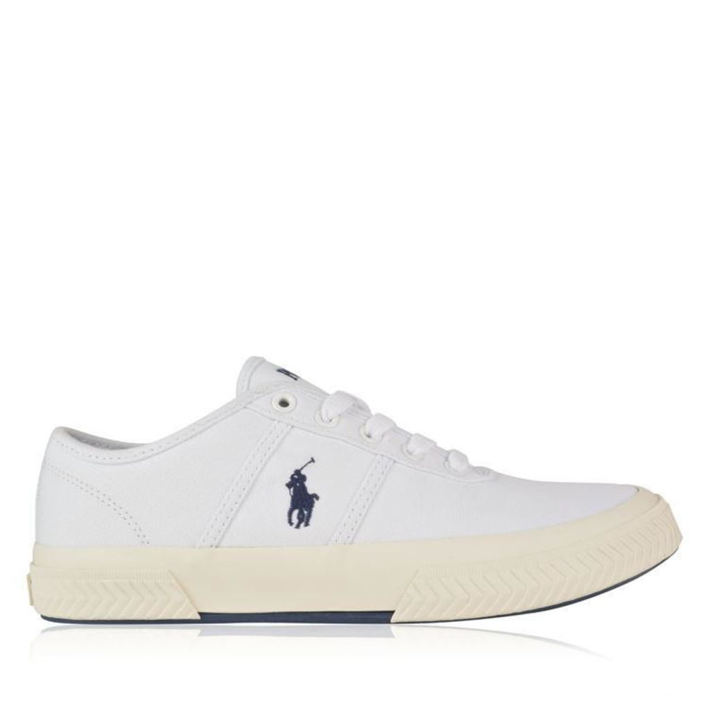 POLO RALPH LAUREN Tyrian Canvas Trainers