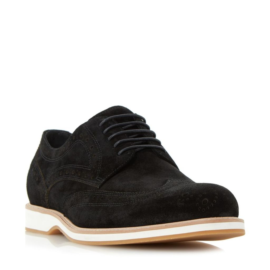 Blake Wedge Sole Brogue Shoe