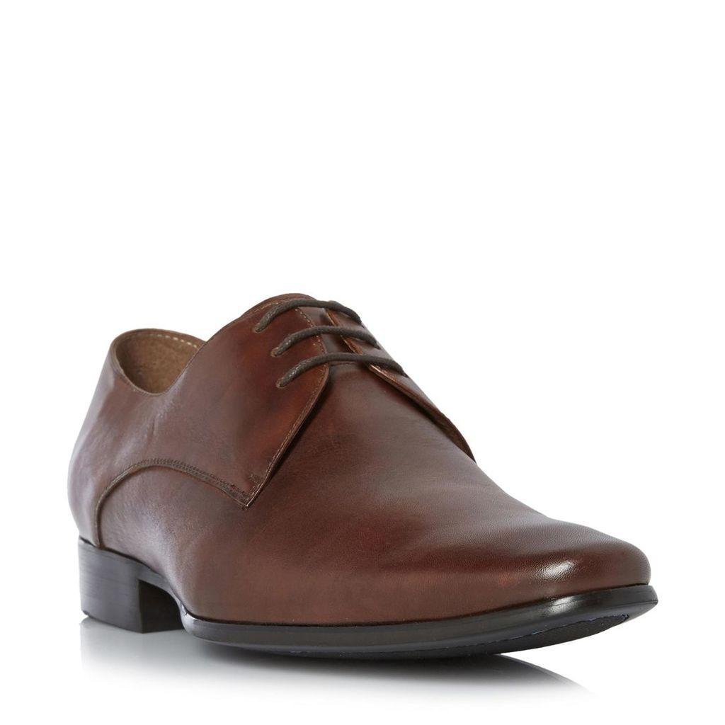 Rick Plain Toe Leather Derby Shoe