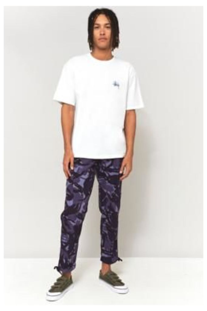 TM London Blue Tiger Camo Cargo Trousers, BLUE