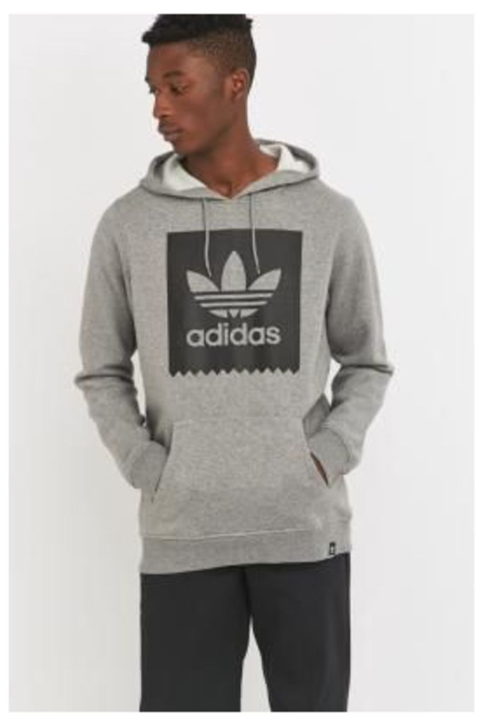 adidas Blackbird Heather Grey Hoodie, GREY