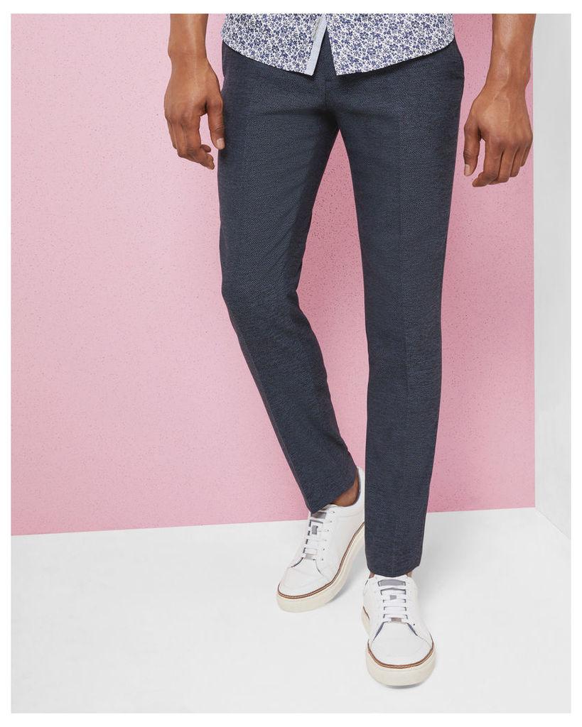 Ted Baker Semi plain wool-blend trousers Blue