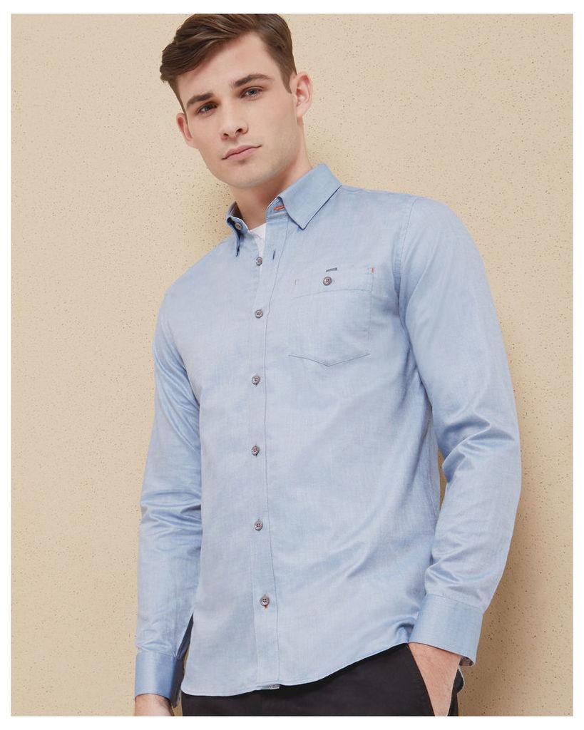 Ted Baker Cotton shirt Dark Blue