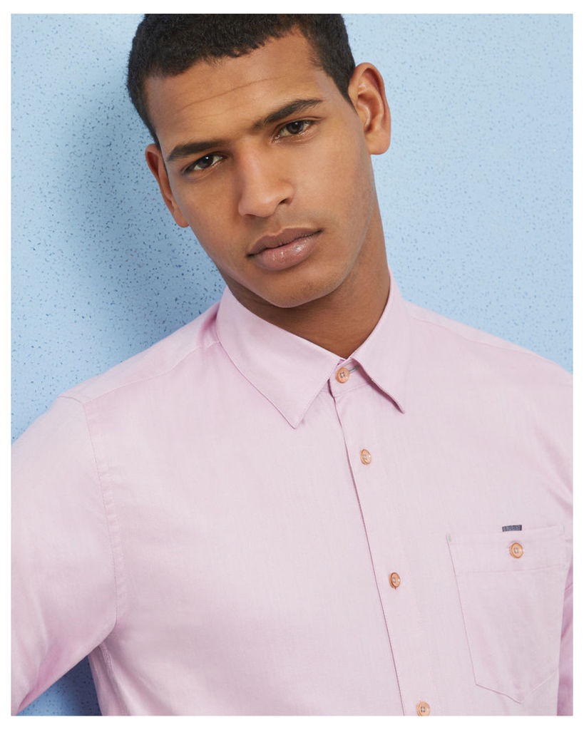 Ted Baker Cotton shirt Pink