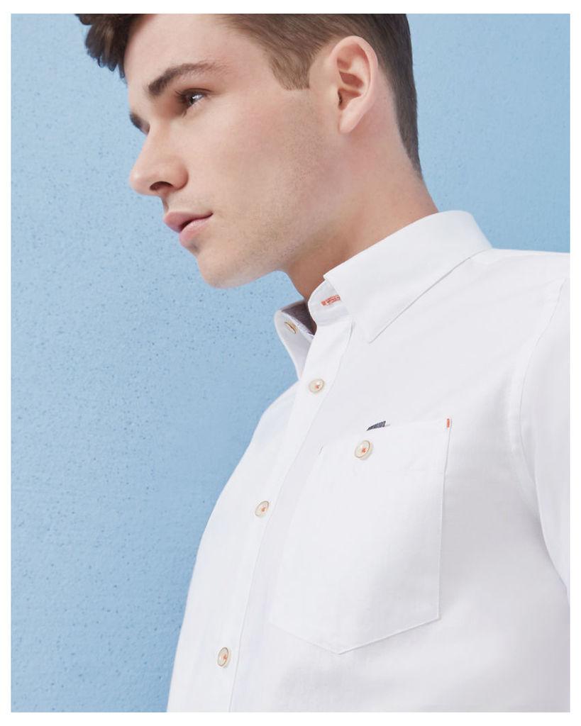 Ted Baker Cotton shirt White