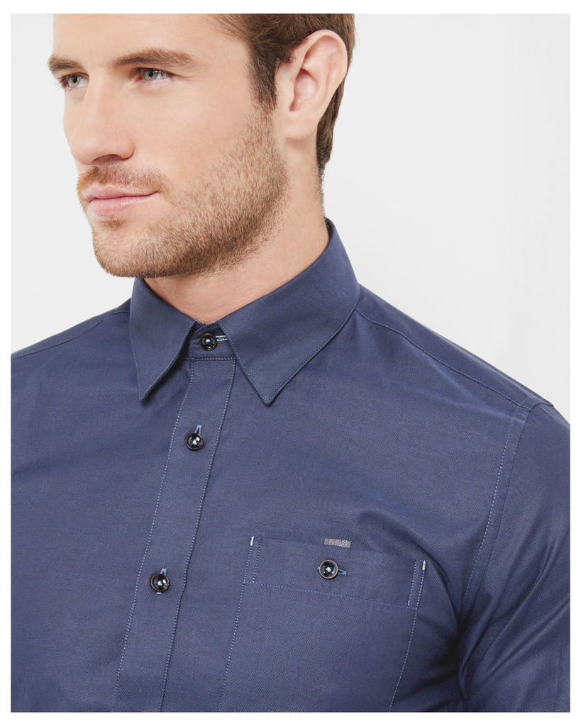 Ted Baker Cotton shirt Navy