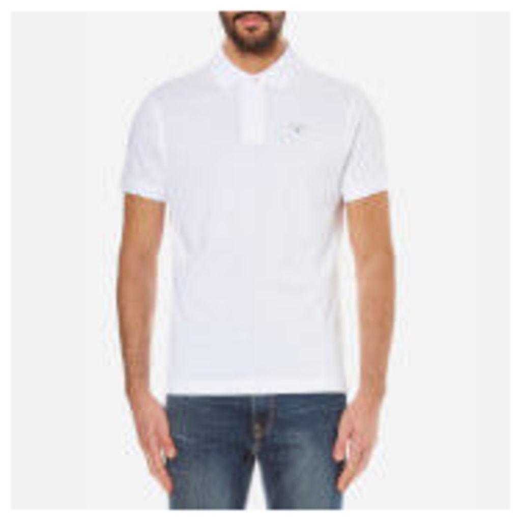 Barbour Men's Sports Polo Shirt - White