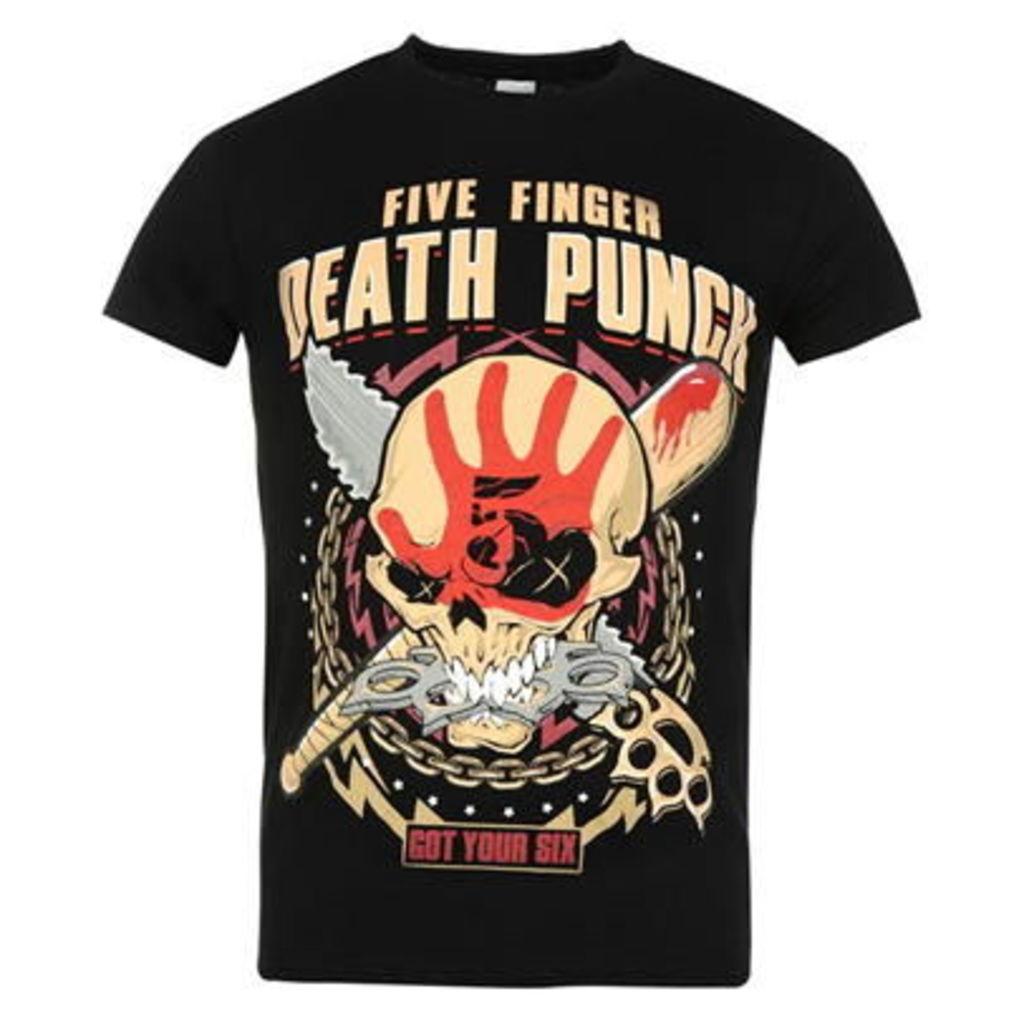 Official Five Finger Death Punch T Shirt Mens