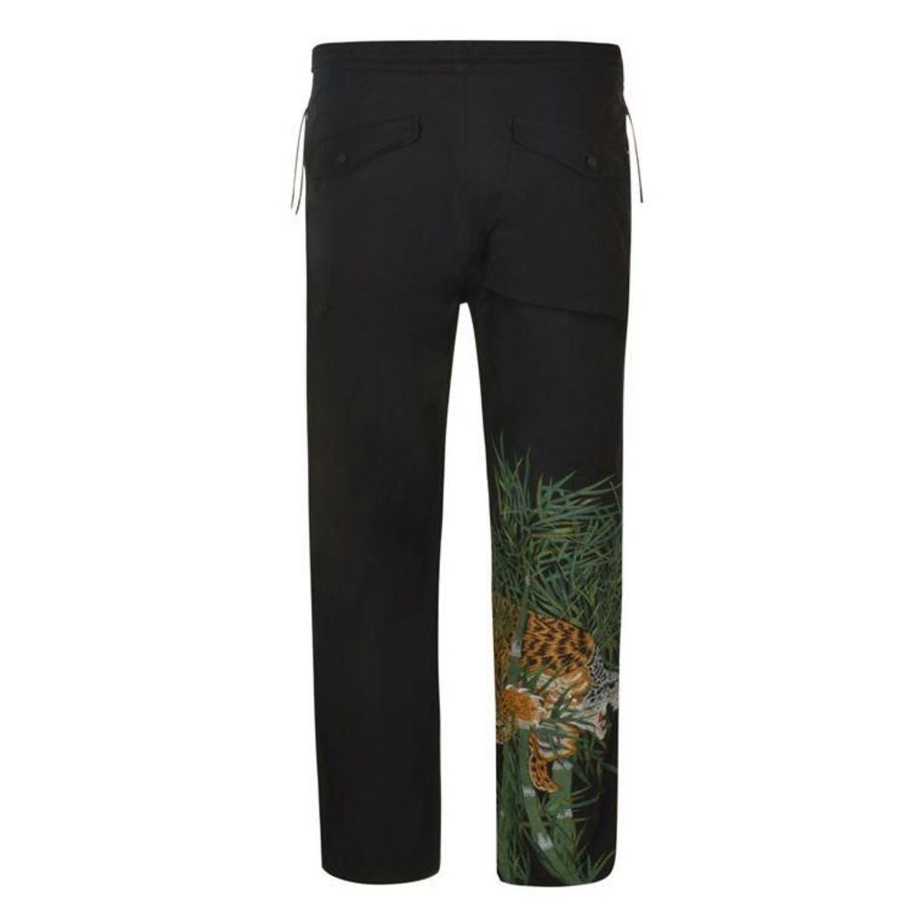 MAHARISHI Tiger Embroidered Snopants