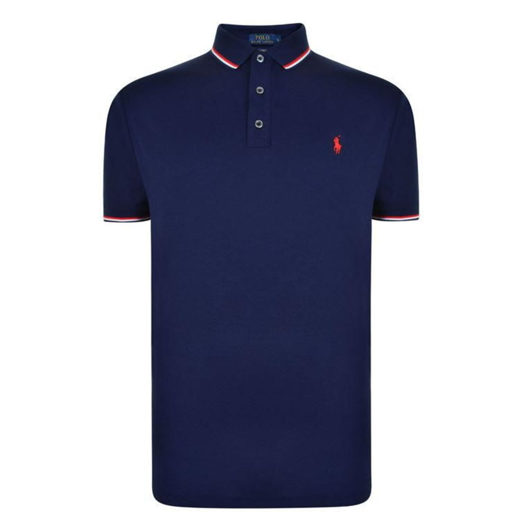 POLO RALPH LAUREN Custom Tri Polo Shirt