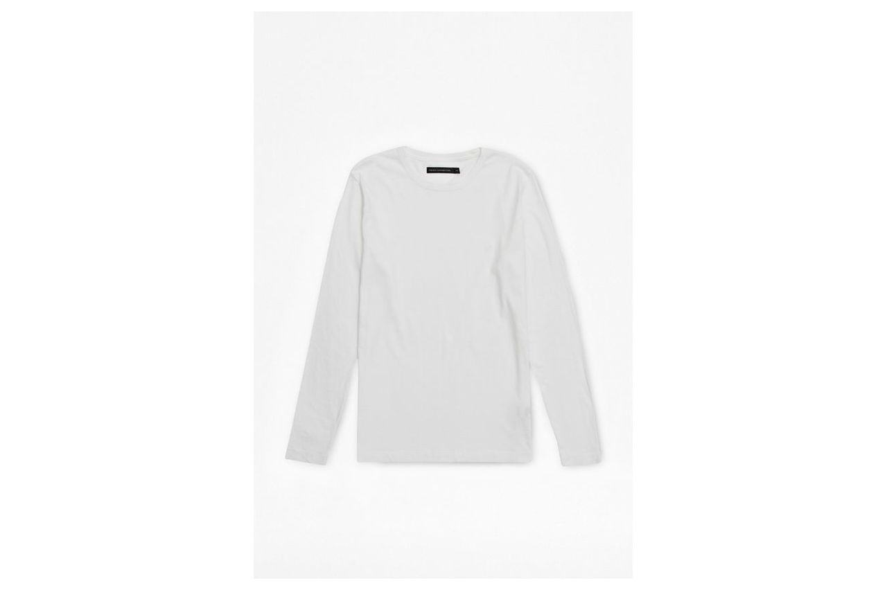 Classic Cotton Long Sleeve T-Shirt - white